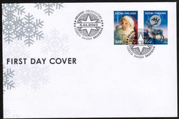 2010 Finland, Christmas FDC. - FDC