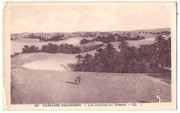 (Algérie) 034, Paysages Sahariens, LL 22, Les Jardins Du Desert, D'un Carnet - Sonstige