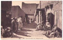 (Algérie) 031, CAP 1267, Un Rue Dans Un Village Du Sud - Sonstige