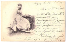 (Algérie) 020, N° 47, Belle Fatma, Dos Non Divisé - Frauen