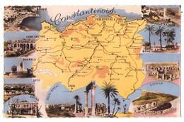 (Algérie) 019, Carte Géographique, Jansol, Le Constantinois - Sonstige