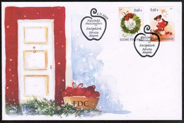 2009 Finland, Christmas FDC. - FDC