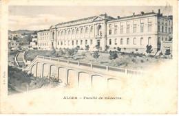 POSTAL   ALGER  -ARGELIA  -FACULTÉ DE MÉDECINE - Sonstige