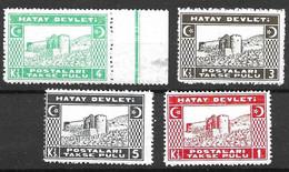 Turkey Hatay Set 1939  25 Euros  Mnh ** - Ungebraucht