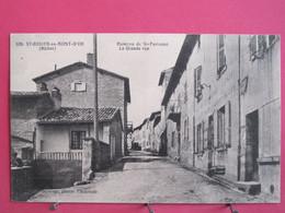 Visuel Très Peu Courant - 69 - St Didier Au Mont D'Or - Hameau De St Fortunat - La Grande Rue - R/verso - Other Municipalities