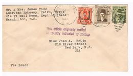 Lettre Vers Les USA  Avec Timbres 189-224-230 - Briefe U. Dokumente