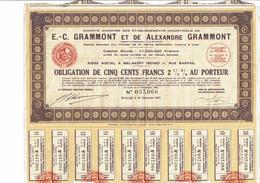 92-GRAMONT ET DE ALEXANDRE GRAMMONT. MALAKOFF  1942 - Sonstige