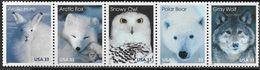 US  1999  Sc#3292a   33c Arctic Wildlife Strip Of 5  MNH  Face $1.65 - Ungebraucht