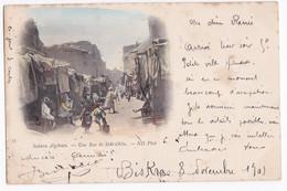 CPA N° 35 . Sahara Algérien-Une Rue De Sidi-Okba, Biskra Constantine Circulé En 1901 - Biskra