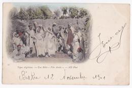 CPA N° 33 . Types Algérien, Une Bitta, Fête Arabe, Biskra Constantine Circulé En 1901 - Biskra