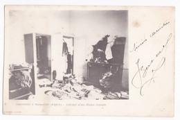 CPA N°5. Insurrection à Margueritte - Intérieur D'une Maison Saccagée, Constantine Circulé En 1901 - Konstantinopel
