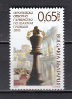 Bulgaria 2003 - European Team Championship In Chess, Plovdiv, Mi-Nr. 4613, MNH** - Ungebraucht
