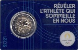 MONEDA 2€ FRANCIA 2021- OLIMPIADA - Frankreich