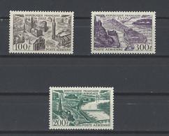 FRANCE.  YT PA  N° 24-25-26  Neuf **   1949 - 1927-1959 Postfris