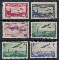 ED-444: FRANCE: Lot Avec PA**  N°5-6-7-8(2)-12 - 1927-1959 Postfris