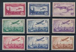 ED-445: FRANCE: Lot Avec PA*  N°5/13  (9-10-11: Gomme Avec Défauts) - 1927-1959 Postfris