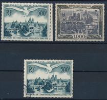 ED-446: FRANCE: Lot Avec PA N°20**-20 Obl 29**( 1 Point De Défaut Discret Au Verso) - 1927-1959 Postfris