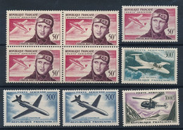 ED-448: FRANCE: Lot Avec PA** N°34(bloc De 4)-34-35-36(2)-37 - 1927-1959 Postfris