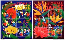 "ONU Genève 2016 -  2 Feuillets ""Journée Internationale De La Danse"" ** - Blocks & Kleinbögen"