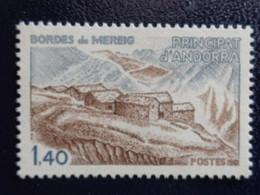 ANDORRE 1981  Y&T N° 291 ** - ARCHITECTURE - Ungebraucht