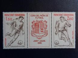 ANDORRE 1982  Y&T N° 302 A ** - COUPE DU MONDE DE FOOTBALL - Ungebraucht