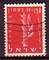 ISRAEL - 1956 - Au Profit De La Dejenese Nationale - 150p - Obl. - Yv 117 - Gebraucht (ohne Tabs)