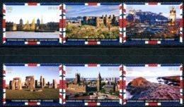 """ONU Genève 2018 - Unesco - Patrimoine Mondial """"United Kingdom"""" 6 Timbres Détachés De Carnet De Prestige ** - Ungebraucht"""