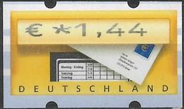 2002 Deutschland Germany  Mi. 5.1 **MNH Automatenmarke  EUR 1,44 Mit Nr. 925 - Ungebraucht