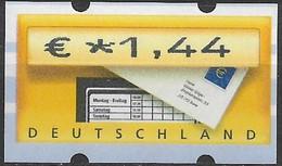 2002 Deutschland Germany  Mi. 5.1 **MNH Automatenmarke  EUR 1,44 Mit Nr. 1770 - Ungebraucht