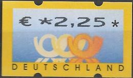 2002 Deutschland Germany  Mi. 4 **MNH Automatenmarke  EUR 2,25 - Ungebraucht