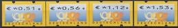 2002 Deutschland Germany  Mi. 4PS 1  **MNH Automatenmarke  EUR 0,51 / 0,56 / 1,12 / 1,53 - Ungebraucht