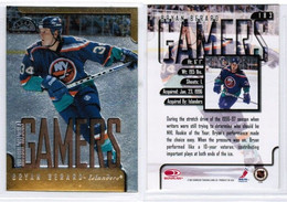 "BRYAN BERARD---DONRUSS LEAF ""Gamers---Fractal Matrix"" 1997-98 (NHL--3-3) - 1990-1999"