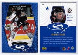 "DOMINIK HASEK---UPPER DECK ""Star Quest-BLUE"" 1998-9 (NHL--3-6) - 1990-1999"