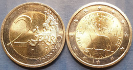 Estonia 2 Euro 2021 UNC < The Wolf > - Estland