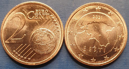 EuroCoins < Estonia > 2 Cents 2021 UNC - Estland