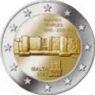 2 Euro Commemorative Malte 2021 Temple Tarxien - Malta