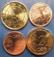 EuroCoins < Estonia > 2 + 20 Cents 2021 UNC (2 Coins) - Estland