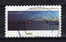 ALLEMAGNE Germany 2013 Pont Bruecke Obl. - Gebraucht