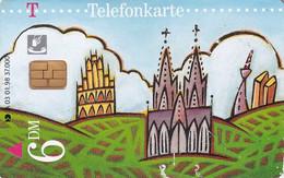 GERMANY - Von Mensch Zu Mensch(A 03), Tirage 37000, 01/98, Used - A + AD-Series : Werbekarten Der Dt. Telekom AG
