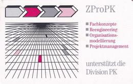 GERMANY(chip) - ZProPK/Zentrum Für Prozeßgestaltung(A 32), Tirage 14000, 12/97, Used - A + AD-Series : Werbekarten Der Dt. Telekom AG