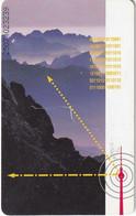 GERMANY(chip) - Rundfunk & Audiovision/Schöne Aussichten(A 18), Tirage 28000, 06/95, Used - A + AD-Series : Werbekarten Der Dt. Telekom AG