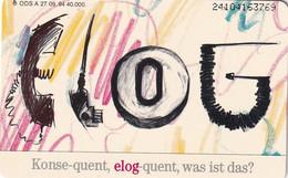 GERMANY(chip) - ELOG/das Logistiksystem Für Endgeräte Von Telekom(A 27), Tirage 40000, 09/94, Used - A + AD-Series : Werbekarten Der Dt. Telekom AG