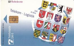 GERMANY - Telekom/Logistik(A 49 A), Tirage 55000, 12/91, Used - A + AD-Series : Werbekarten Der Dt. Telekom AG