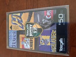 Telecom Rugby Chip Card $50 - Neuseeland