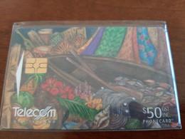 Telecom Chip Card $50 Card 079 - Neuseeland