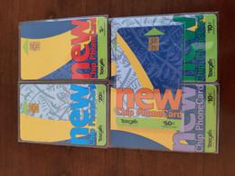 Telecom Chip Cards 5 Different - Neuseeland