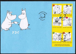 2009 Finland, Moomins FDC. - FDC
