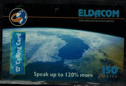 ISRAEL 1998 ELDDACOM PRIVATE PHONECARD SPEAK UP TO 120% MORE USED VF!! - Israel