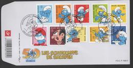FDC :  Nr 3814/23  Stempel: 6900 Marche-en-Famenne - 2001-10