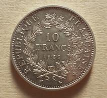 (Monnaies). France. 10 Fr Argent Hercule. Dupré. 1965 - K. 10 Francs